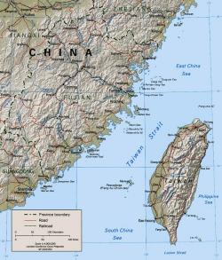 The Taiwan Strait