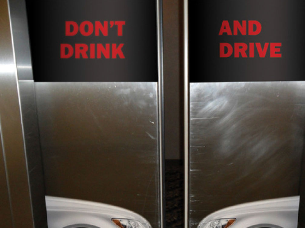 MADD: Mothers Against Drunk Driving Headline: Don't Drink and Drive