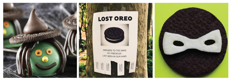 Figure 10. Examples of Oreo's genuine and imaginative personality.