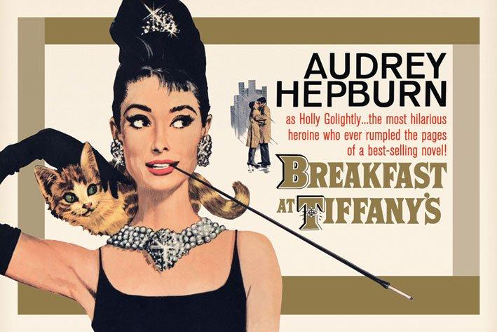 56b04781d Breakfast at Tiffanys (1961). For most of the film, the irresistible,  irrepressible icon that is Hepburn's Holly Golightly ...