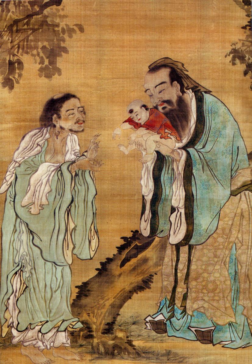 Confucius Laozi Buddha