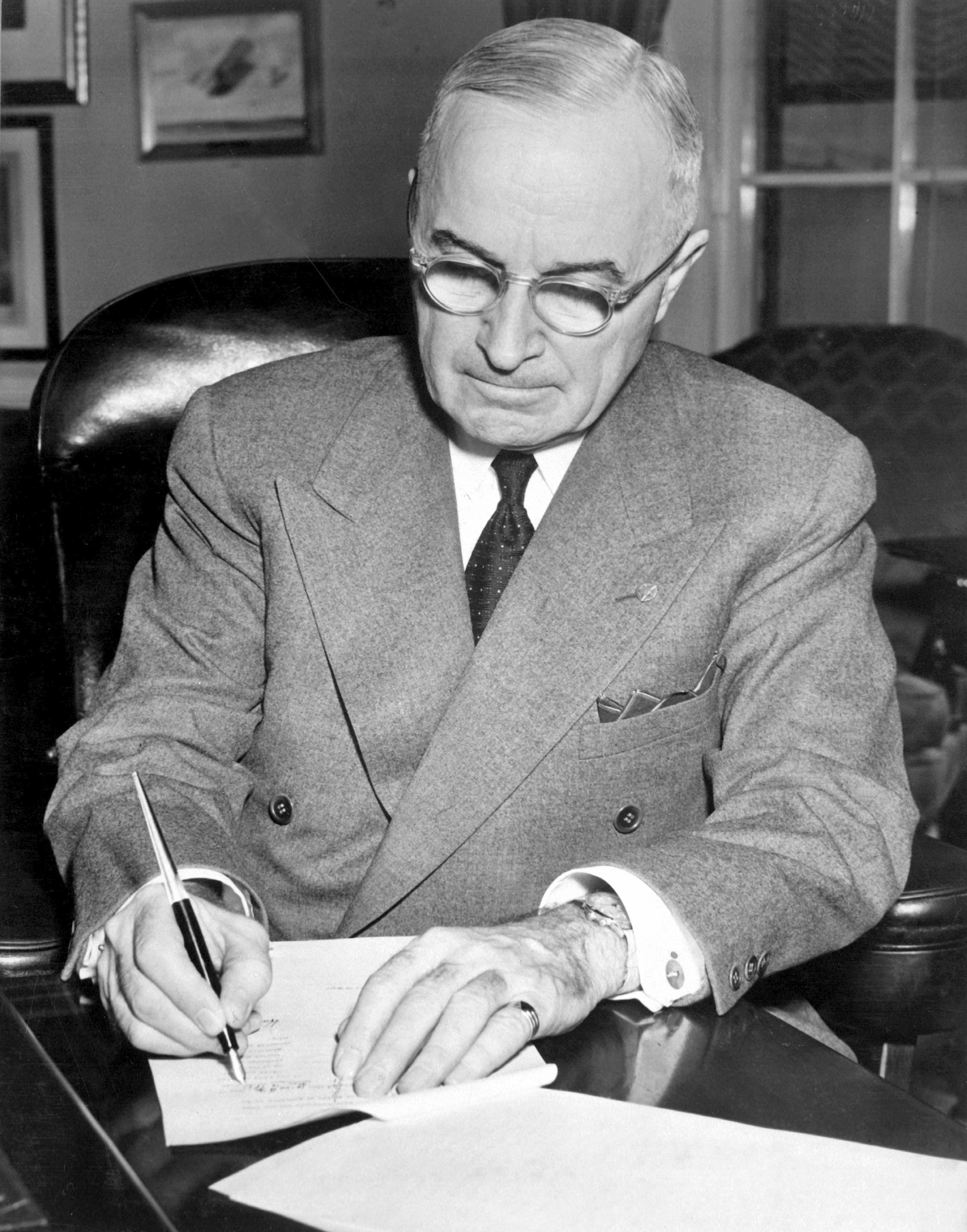 a discussion of harry s trumans decision of the century 2010-07-09 what did hoover, truman, and eisenhower have in common found it very interesting, but wonder why you never hear any discussion about it  more than half a century  archivist, harry s truman presidential.