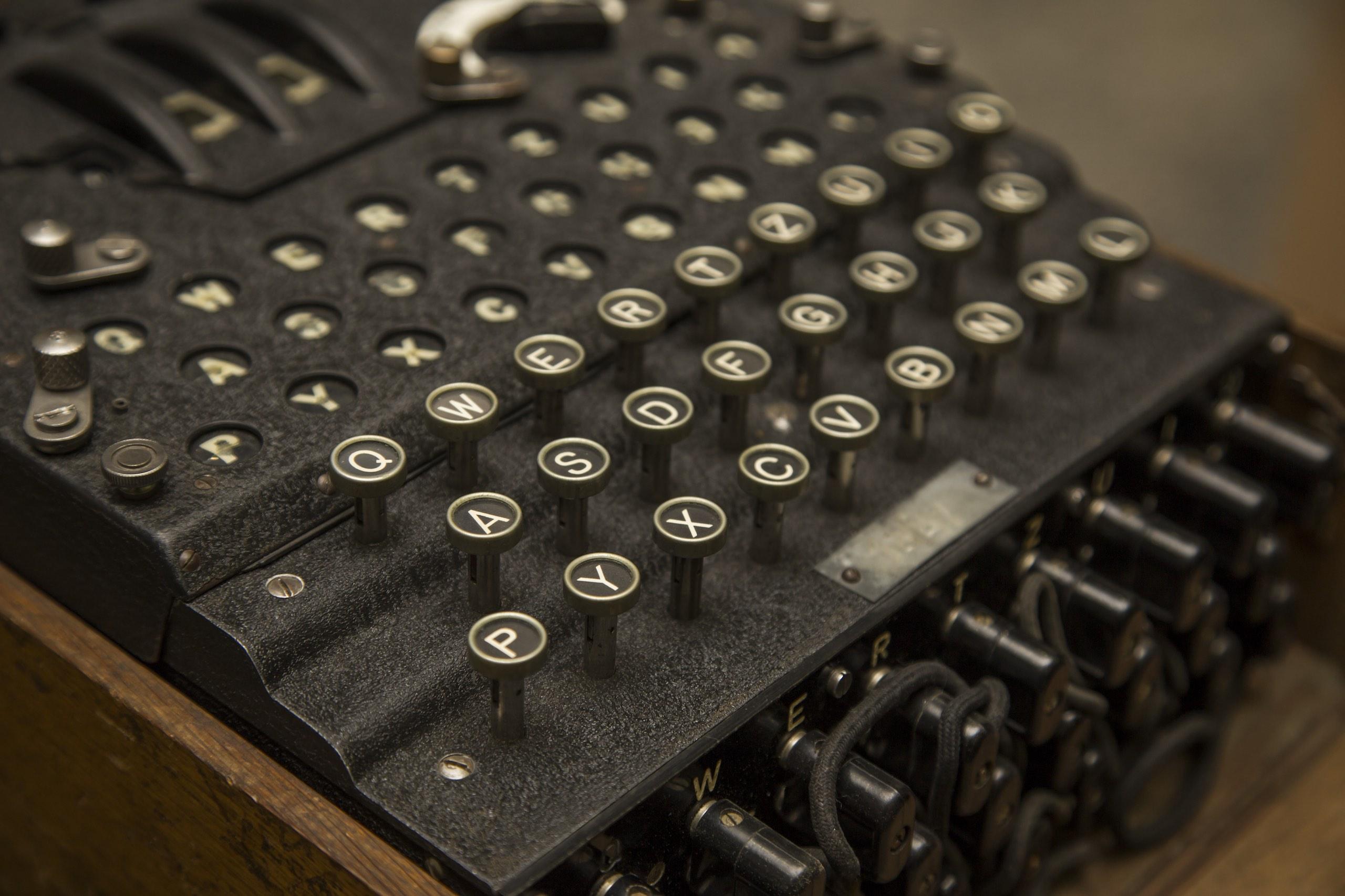 Enigma Machine German Cipher