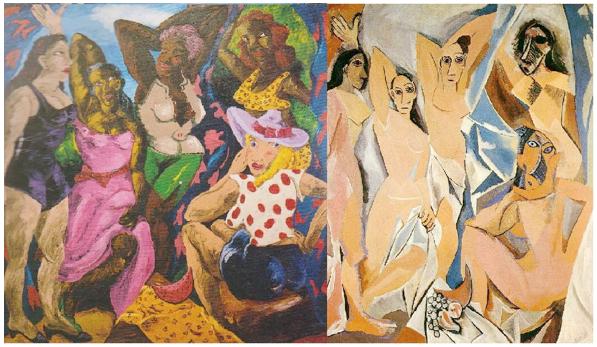 Les Demoiselles d'Alabama & Les Demoiselles d'Avignon