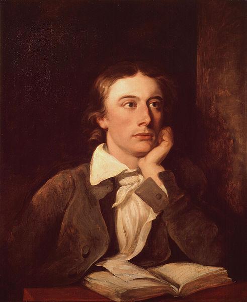 Portrait of John Keats, by William Hilton (died 1839)