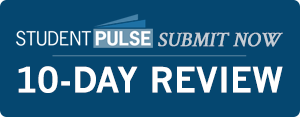 Submit to Student Pulse, Get a Decision in 10-Days