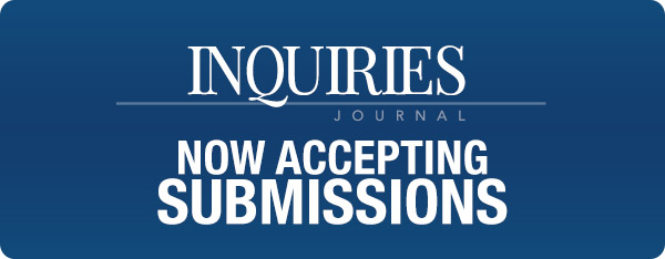 Submit to Inquiries Journal, Get a Decision in 10-Days