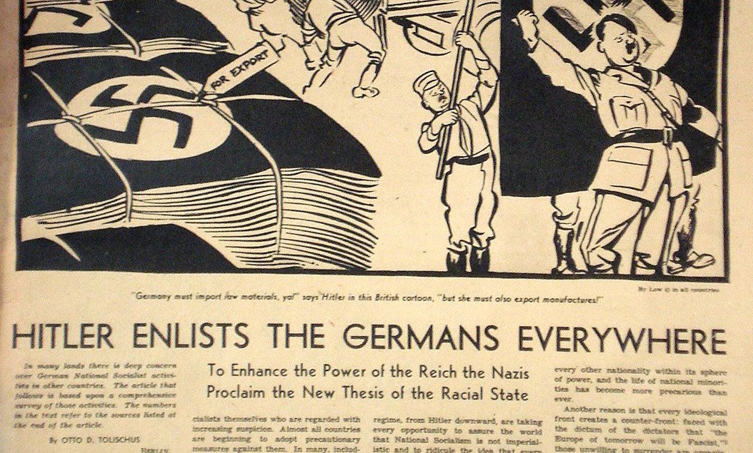 Yesterday's News: Media Framing of Hitler's Early Years