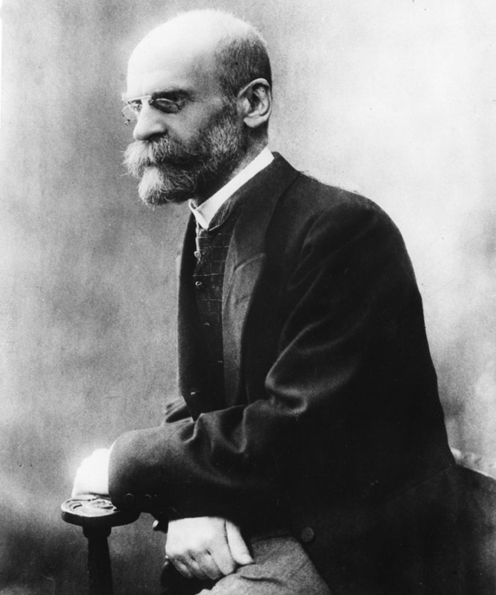 essay emile durkheim sociology The text, sociology: beyond common sense, describes many individuals who have contributed to our current view of sociology, including: auguste comte emile.