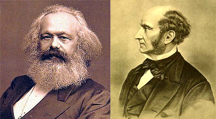 On Freedom And Progress Comparing Marx And Mill  Inquiries Journal Karl Marx Left And John Stuart Mill Right