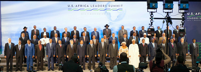 THE CONTEMPORARY ISSUES AND THEMES DISCUSSED AT THE 2014 U.S.-AFRICA LEADERS SUMMIT IN WASHINGTON, DC INCLUDED REGIONAL SECURITY AND STABILITY