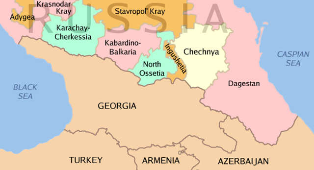 Chechnya and the Caucasus region