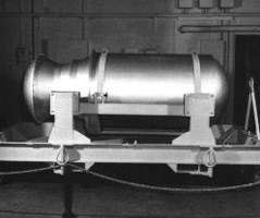 Casing of a U.S. W53 thermonuclear warhead