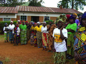 Democratic Republic of the Congo: Rape Victims who have been successfully reintegrated into their communities assemble in a