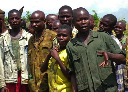 Former Child soldiers in eastern Democratic Republic of the Congo
