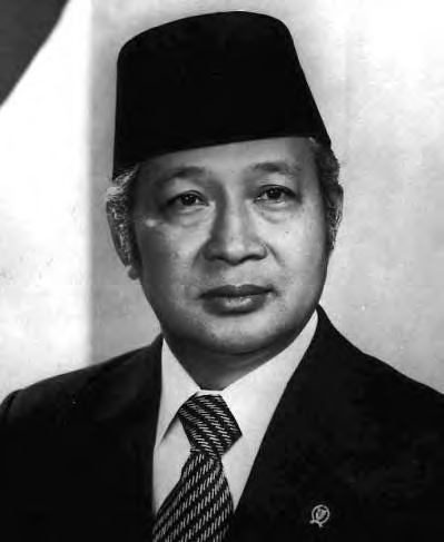 Suharto came to power in a coup, and was the President of Indonesia from 1967 to 1998.