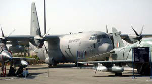 Developing U.S.-India Air Force cooperation opened the opportunity for the Indian Air Force to purchase technology from the United States, including C-130J Hercules aircraft, pictured below.