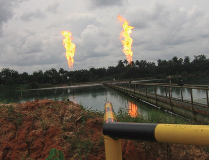 Most of Nigeria's oil fields are located in the Niger Delta, which is in the southern region of the country