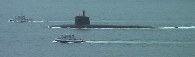 Le Terrible (S 916) of the French Navy. The French maintain their own nuclear deterrent, demonstrating the reservation of EU member states to relinquish national security to supranational control.