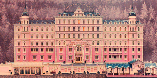 Figure 3. Image of the Grand Budapest Hotel
