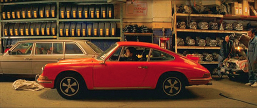 Figure 2. The father's red car in The Darjeeling Limited.