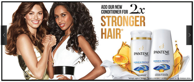 Figure 3. Pantene Pro-V Advertisement – Canada (