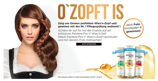 Figure 4. Pantene Pro-V Advertisement – Germany. Translation (Top to Bottom):