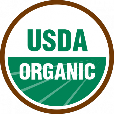 "Figure 7: USDA ""organic"" label (Agricultural Marketing Service- Organic Labeling)"