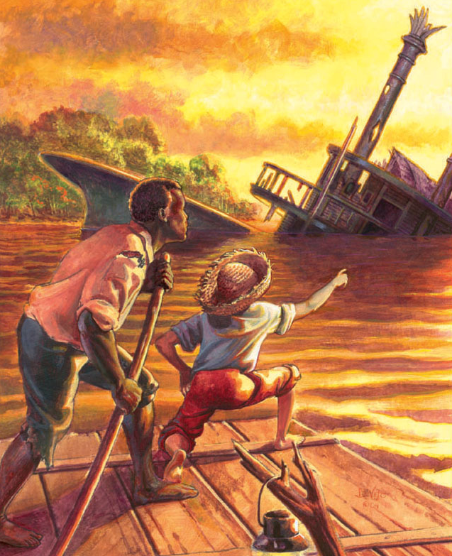 huck finn essay jim Essay on jim in the adventures of huckleberry finn jim runs away for his family, so his kids might have a brighter future not for himself but for his family.
