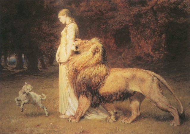 Una and Lion