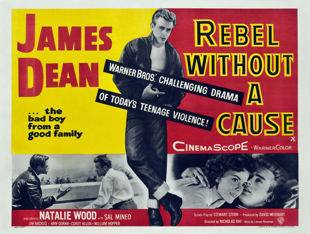 Movie Poster for Rebel Without a Cause