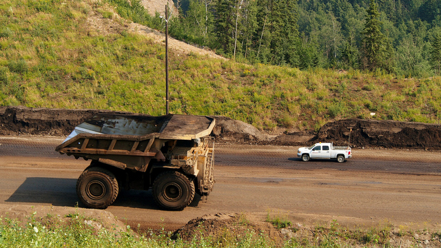 Heavy equipment for tar sands development