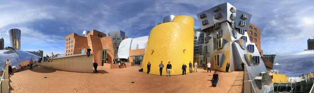 Panoramic view of Stata center