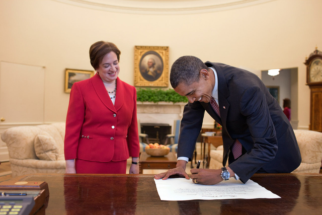 President Obama with Elena Kagan