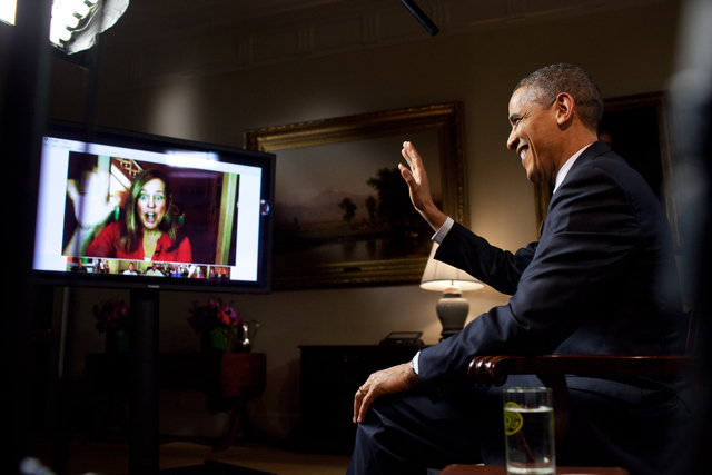 President Obama using Google+ to take questions about his State of the Union address