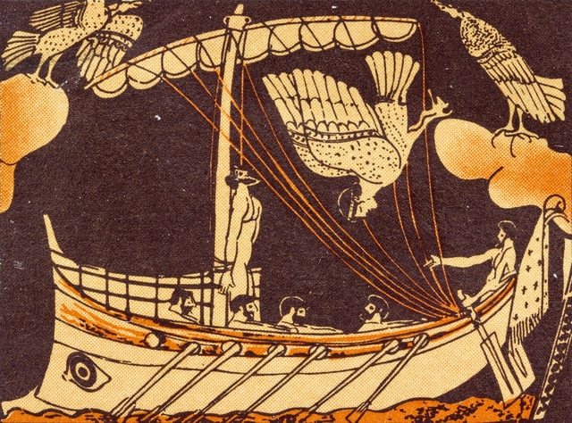 Scene from Homer's the Odyssey
