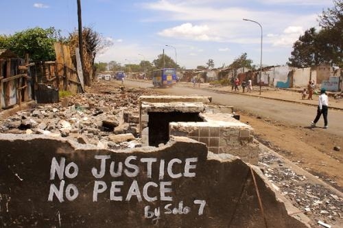 Post-election violence in Kenya