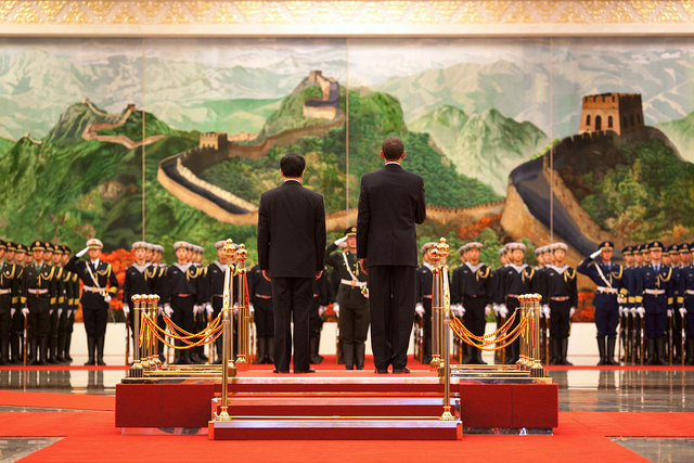 President Obama meets with Chinese Primier Hu Jintao in China - defining the US-China relationship.