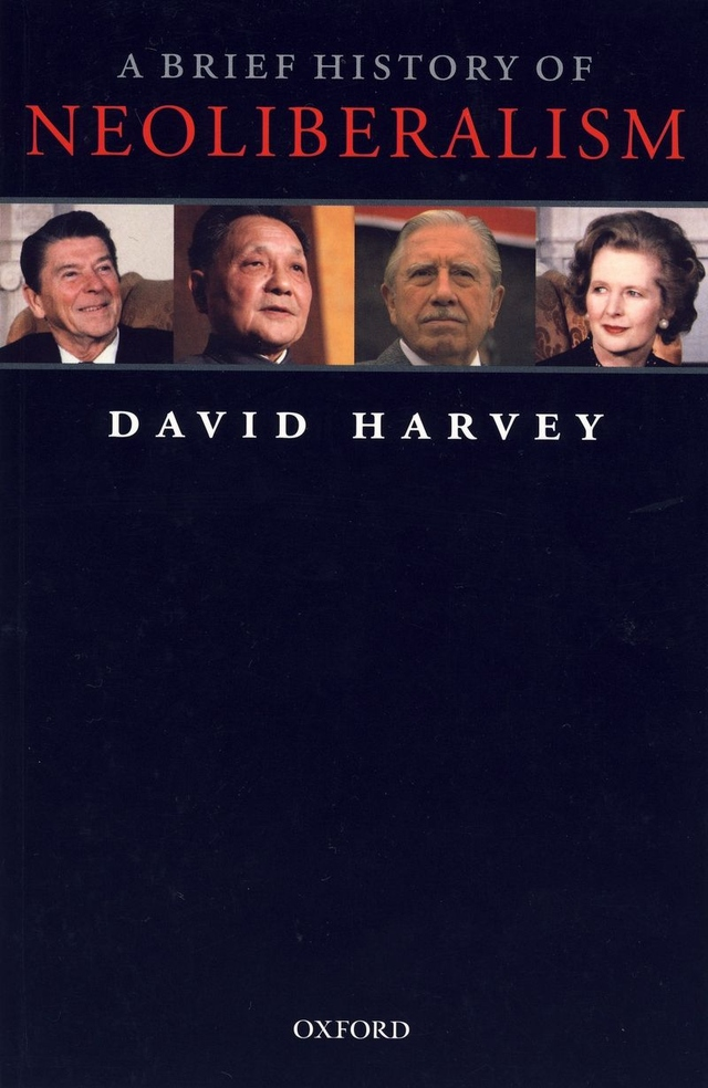 A brief history of neoliberalism (cover) by David Harvey