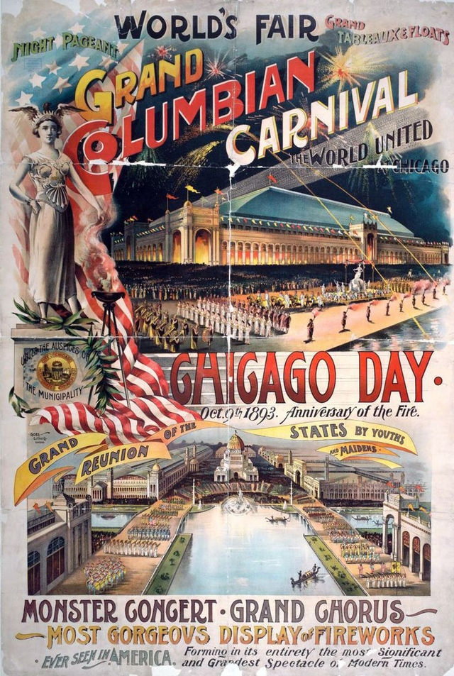 Chicago World's Fair Poster 1893