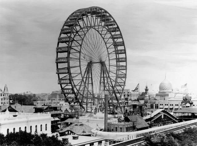 Ferris Wheel from 1893 World's Fair