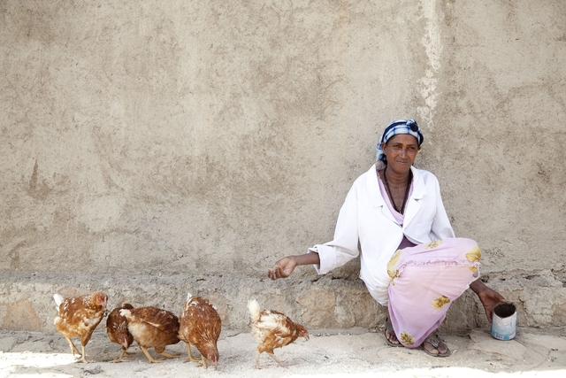 Women's cooperative in Ethiopia