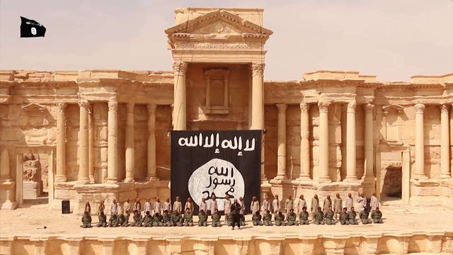 ISIS execution at Palmyra