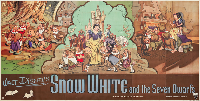 Snow White and the Seven Dwarfs Film Poster