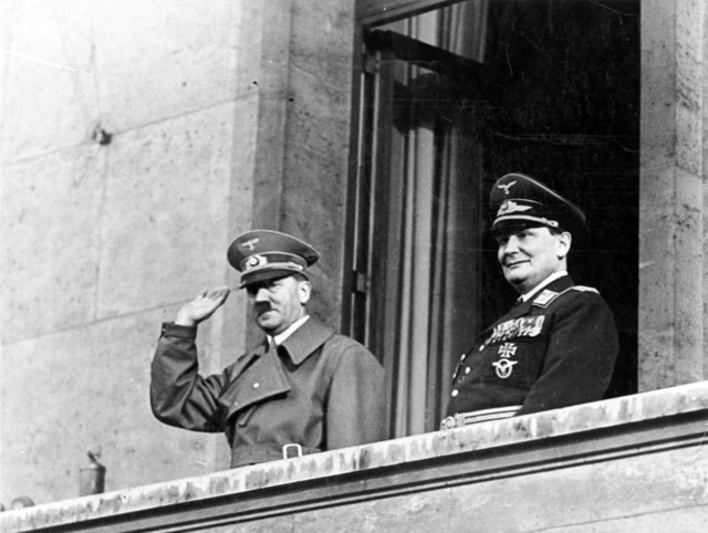 Adolf Hitler and Hermann Göring, March 1938