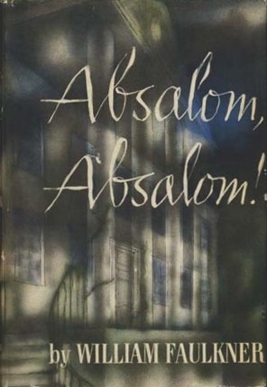 First edition cover of William Faulkner's Absalom Absalom!