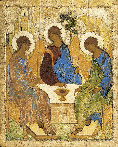 Andrei Rublev's icon of the Trinity