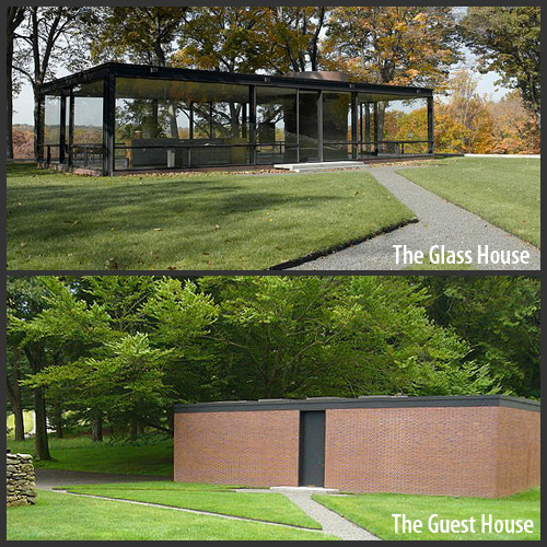 Philip Johnson Glass House the glass house as space exploring the intersection of